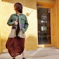 [SALE]パッチワークシャツ/アウター/パッチワーク/シャツ/レディース/メンズ/ユニセックス/男女兼用/春秋/ポケット付き/Days/デイズ