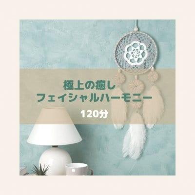 120分【フェイシャルハーモニー】極上の癒し&ストレスの解放!深いくつろぎ