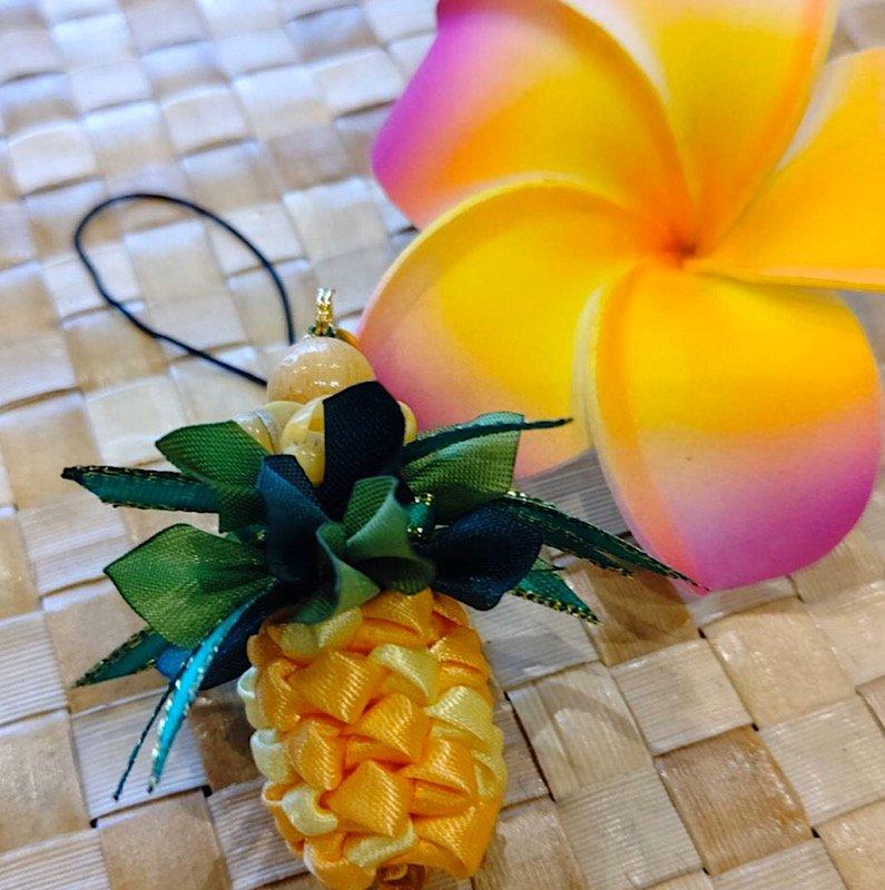 ハワイアンリボンレイ ワークショップ ランチ付きのイメージその1