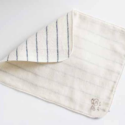 【送料無料】 草木染・手織りの自然服 うさと 布 ナプキン うふふわ ...