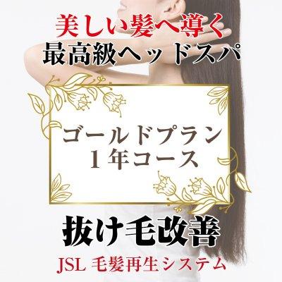 【女性限定】育毛ゴールドプラン(1年コース)