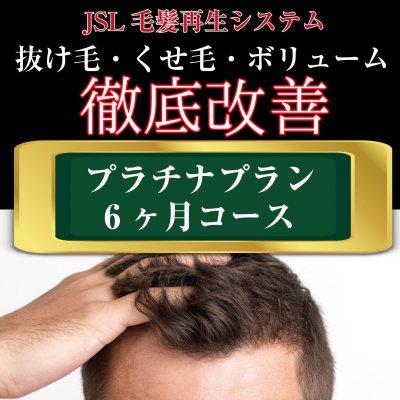【育毛】プラチナプラン(6ヶ月コース)