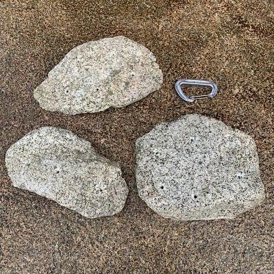 3個セット 花崗岩シリーズ 薄カチ M〜LサイズKAK-3ST-UKml