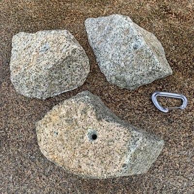 3個セット 花崗岩シリーズ 山脈(ピンチ・カチ系統)LサイズKAK-3ST-SAl