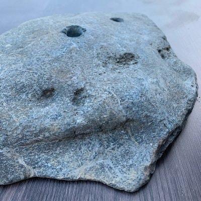 限定1点物 川原石シリーズ カチ系 自然石クライミングホールド『庭HIDEhold』K-02k