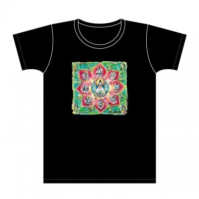 高級曼荼羅 反射Tシャツ