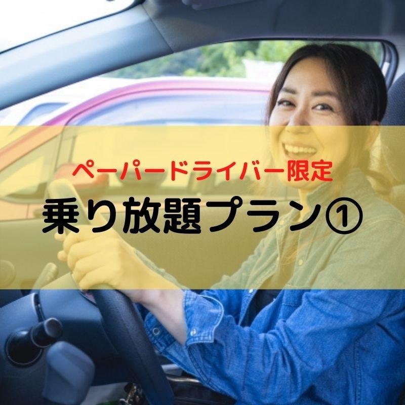 【ペーパードライバー限定】乗り放題プラン①のイメージその1