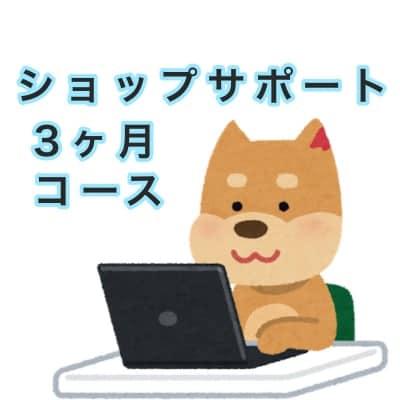 ショップサポート【3ヶ月コース】