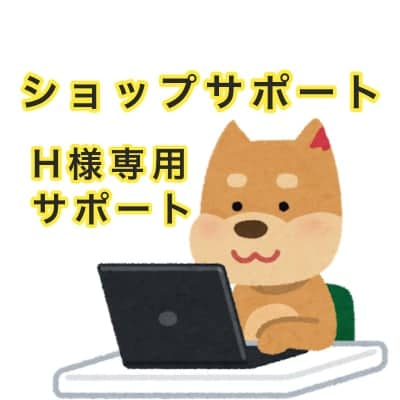 【H様専用】ショップサポート