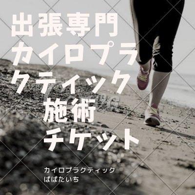 淡路島出張専門カイロプラクティック全身施術チケット