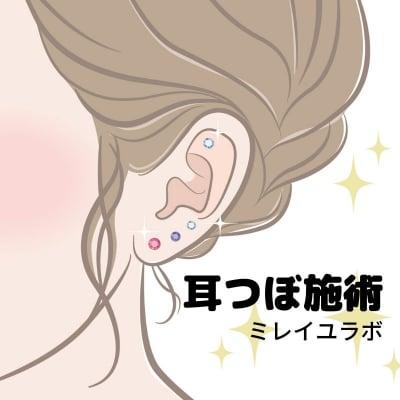耳つぼ施術チケット【銀行振込のみ】