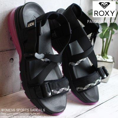 ロキシー サンダル ROXY PANORAMA PLUS RSD202503 BPK サンダル スポサン ビーチサンダル シャワーサンダル スポーツサンダル ポイント3%