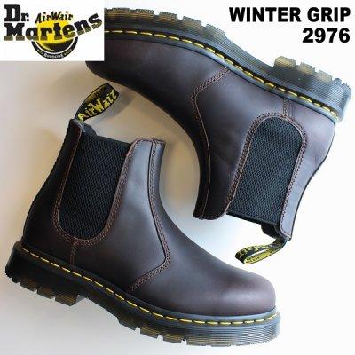 ドクターマーチン サイドゴア メンズ  ドクターマーチン 2976 ウィンターグリップ スノープロー Dr.Martens Winter Grip 2976 Snowplow チェルシーブーツ 防滑 雪