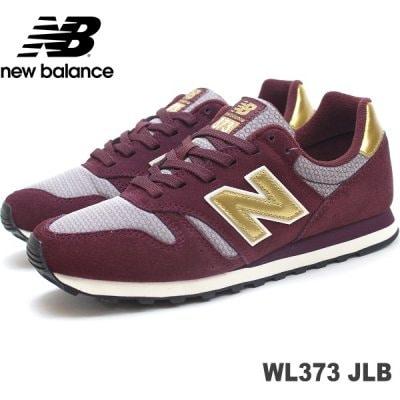 ニューバランス WL373 JLB(WINE RED/GOLD) new balance WL373JLB スニー...