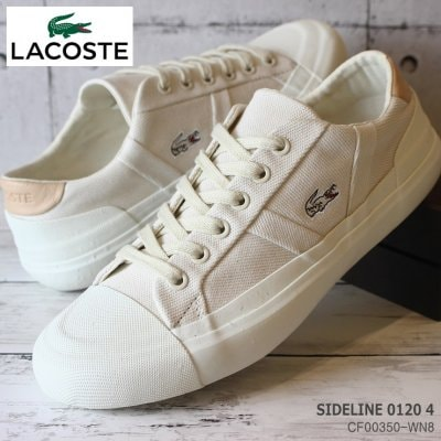 ラコステ レディーススニーカー LACOSTE SIDELINE 0120 4 CF00350-WN8 ...