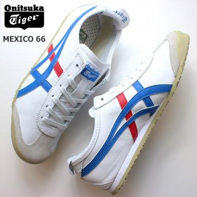 オニツカタイガー Onitsuka Tiger MEXICO 66 DL408-0146 WHITE/BLUE メキシコ66 asics スニーカー