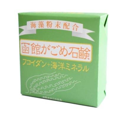 〈肌ケア〉函館がごめ石鹸グリーンラベル