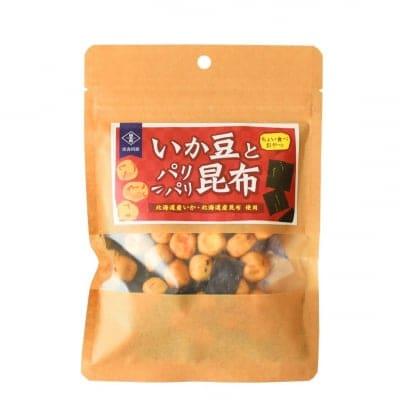 【無添加おやつ】いか豆とパリパリ昆布
