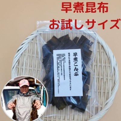 早煮昆布カット済18g【お試し用】便利なジッパー付袋入り【送料無料】【メール便対応】房丸