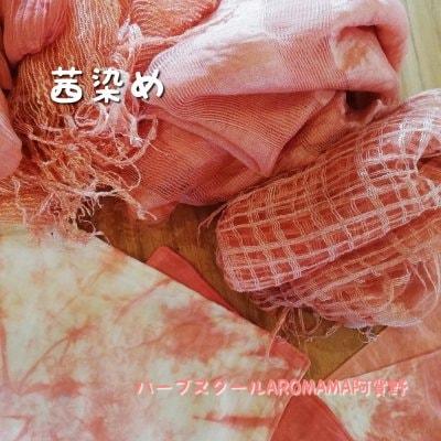 10/6(火)茜染め教室