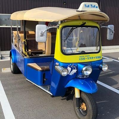 ツクツクでトゥクトゥクを売ります!!タイの三輪タクシー・トゥクトゥク(ツクツク)車体のみ販売価格!めっちゃ目立つ宣伝カーにピッタリのトゥクトゥク(ツクツク)♪7人乗りトゥクトゥクTUKTUK♪写真はイメージです。新規登録車はオーダーメイドでカラーリングも自由にできる!納車まで6ヶ月