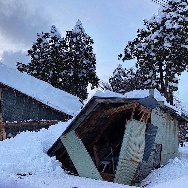 令和3年上越豪雪被害農家サポートチケット(3000円)のイメージその1