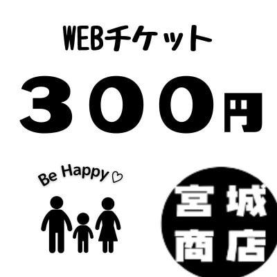 300円WEBチケット