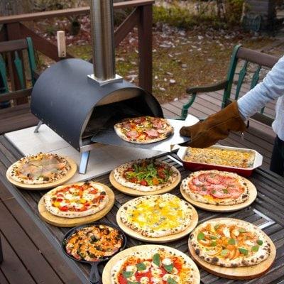 どこでも焼ける本格PIZZA窯 ポータブルピザオーブンKABUTO(かぶと)