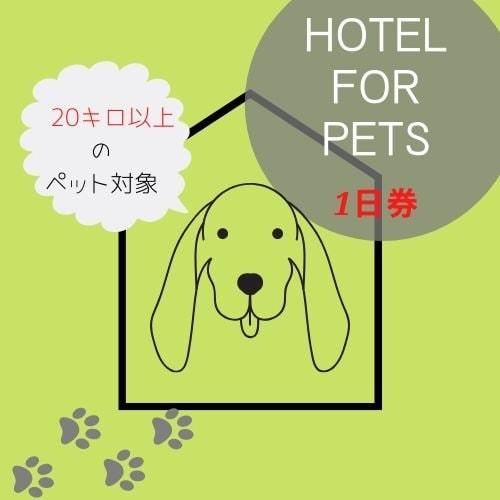 ペットホテル1日券【 20キロ以上の犬専用】のイメージその1