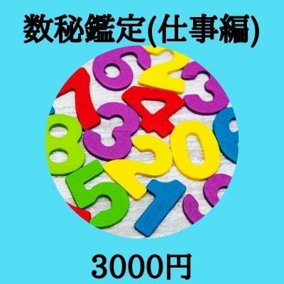 お仕事編★数秘鑑定★生年月日とお名前からあなたの働き方を知る!3000円