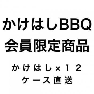 《BBQ会員限定》純米吟醸微発泡 かけはし500ml×12本 *かけはしBBQのグループに所属している方のみお買い上げいただけます