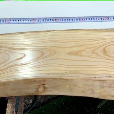 欅一枚板カウンターテーブル