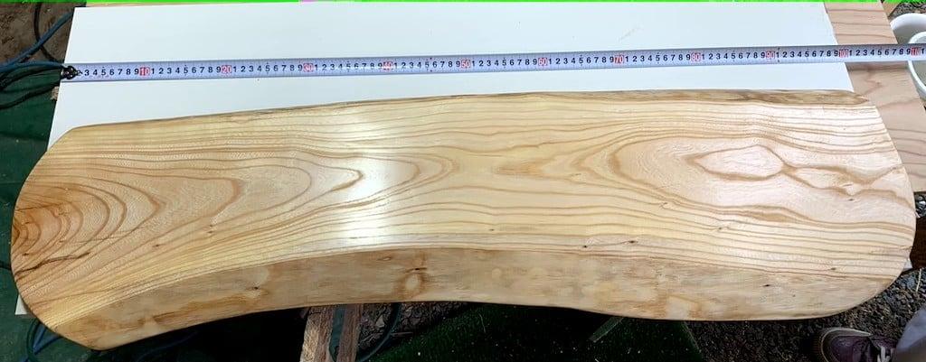 欅一枚板カウンターテーブル のイメージその1
