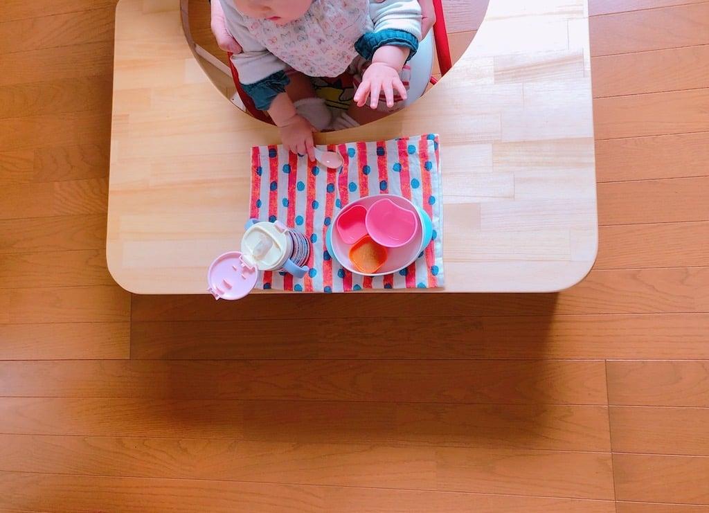 子育て中 現役大工さんが作る『手作り赤ちゃんテーブル』のイメージその5