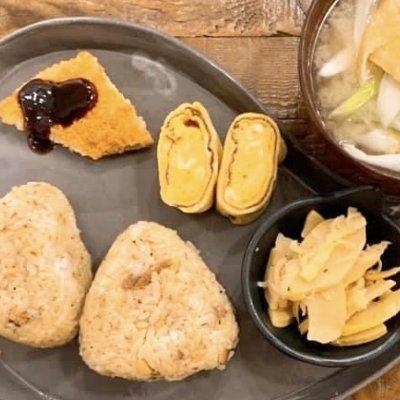 秋刀魚ご飯おむすびセット[420円]のウエブチケット