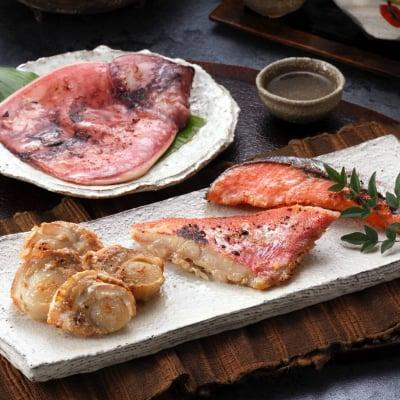 【お試しセット】鶴齢KAKUREI(かくれい)大吟醸酒粕漬け5種類(サーモン、ほたて、きんめ鯛、いか、銀だら)セット・冷凍同梱可