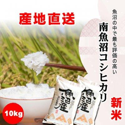 【令和2年産新米】食味スコア86/新潟で最も評価の高い地域/南魚沼産こしひかり10kg/常温同梱可