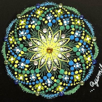 あなたの魂輝カラーでお守り曼荼羅アート(メルマガ登録割引)