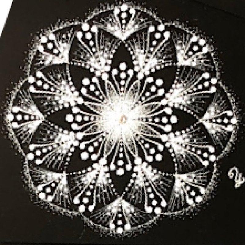 曼荼羅アートレッスン(ハガキサイズ*メルマガ登録の方)のイメージその2