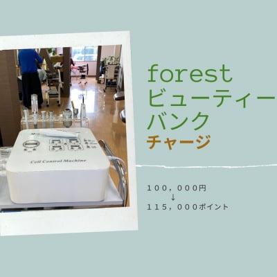 フォレストビューティーバンク チャージ10万円