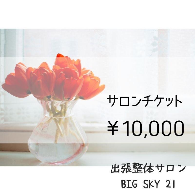 サロンチケット 10,000円のイメージその1