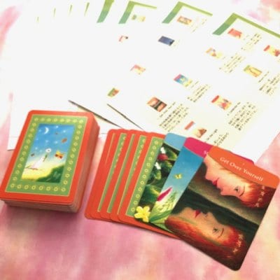 【エゴの声を切り放す】アンサー・イズ・シンプルオラクルカード(英語カード/オリジナル日本語訳付)
