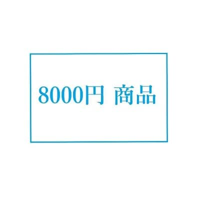 8000円商品