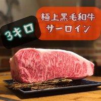 厳選黒毛和牛 サーロイン 3Kg 塊肉 かたまり肉 ブロック肉 最高級赤身 一頭買い A4 A5クラス