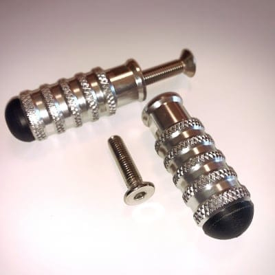 【あわせ買い専用】【汎用】ステップバー 2本セット M8ボルト付 送料無料