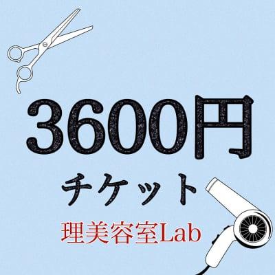 [現金払いのみ]施術料金3600円チケット