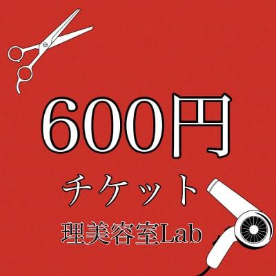 [現金払いのみ]600円チケット