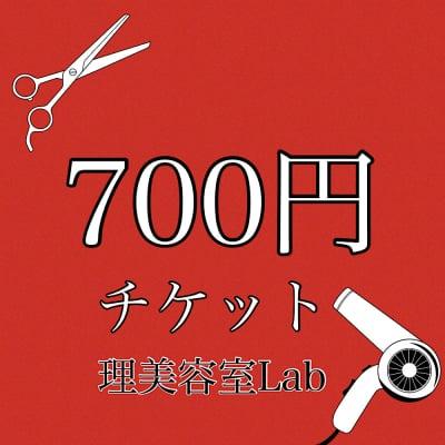 [現金払いのみ]700円チケット