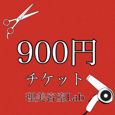 [現金払いのみ]900円チケット