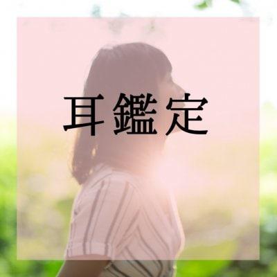耳鑑定®︎(期間限定モニター価格)